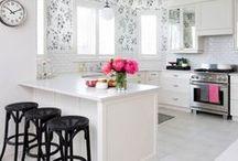 kitchen / Stylish and chic kitchen designs.