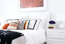bedroom / Eclectic and stylish bedroom design and ideas.