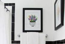 bathroom / Unique and stylish bathroom design and bathroom layout.
