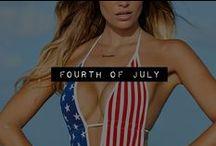 Sexy Fourth of July Swim @Musotica.com / Buy Musotica's Sexy Fourth Of July Swim Wear, Sexy Fourth Of July Swim Suit, Sexy Fourth of July Bikini, Sexy American Flag Bikini, Sexy American Flag One Piece, Sexy Patriotic Swim Wear, Sexy Holiday Vacation Swim Wear