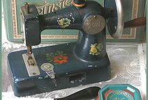 Vintage sewing collectibles