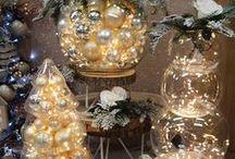 Natale creazioni allestimenti, addobbi / Addobbi natalizi acquistabili online. Idee per vetrine e allestimenti