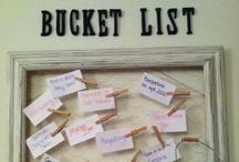 Bucket List / by T