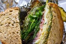Sandwiches / Sandwiches, wraps, burgers and hot dogs / by Jackie LP