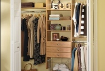 Out of the broom closet / well organized closets / by Debra Blackburn Siegrist