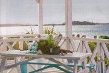 Beachy Porch/Sunroom