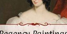 Paintings: Ladies / Paintings of females from the Regency Era or in the Regency style.