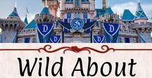 Wild About: Disneyland / Disneyland and California Adventures. The magic of Disney in California. I love everything to do with Mickey Mouse!