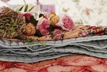 Marvelous Textiles, Fabrics, Quilts,  Blankets / by Flame Evermore