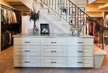 Dream Home ~ Closets / by T