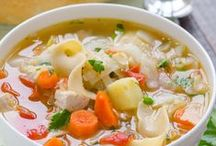 Recettes de soupes et de potages / Recettes de soupes et de potages