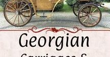 Georgian: Carriages & Conveyances / If it had wheels or transported from one place to another, here it is. Antique vehicles and paintings.