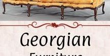 Georgian: Furniture / Furniture from the broad Georgian & Regency Eras, or before.