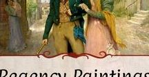 Paintings: Romance / Regency period and later-dated paintings depicting lovers, romance, and weddings.