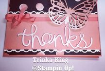 Stampin up / by Trinka King