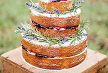 Wedding Cakes / Almost too pretty to eat - but we'll do it anyway!