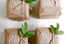Wedding Favors / A lovely thank you for all your guests