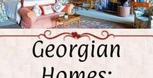 Georgian Homes: Bed & Bath / Bathrooms, bedrooms, nurseries, and dressing rooms. Examples have a Georgian aesthetic and *mostly* period-correct fixtures.