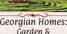 Georgian Homes: Garden & Landscape / Gardens, cascades and fountains, follies, ha-has, orangeries, and other unique features of an 18th to early 19th-century estate parkland.