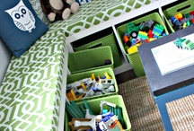 around the house and organization / by Angie Anderson