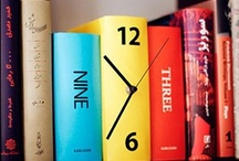Tick Tock / Amazing Clocks that make excellent conversation pieces. / by Erin Ryan