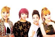 2NE1 / CL, Minzy, Dara, & Bom / by Jasmine Baldwin