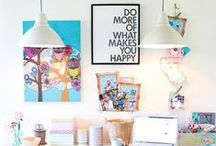 "Home Deco Ideas / ""What I love most about my home is that it makes me feel like a kid in a candy store."""