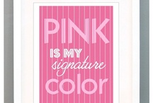 In my world everything would be PINK!!!!