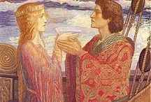 Tristan and Iseult / The Medieval Romance that Inspired the Song for a Winter's Night trilogy: The Swallow's Spring, Book II, and Book III / by Debby Zigenis-Lowery