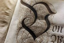Typography, Calligraphy and Beautiful Paper