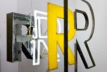 signage & room installation / by le zig le zag