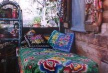 Boho Chic Interior / Bohemian Interior Ideas