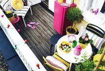 Outdoor Deco Ideas / Outdoor is the new Indoor, Balcony. Exterior