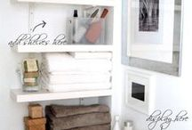 For the Bathroom / Small Bathrooms and Ensuiets