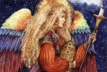 Art: Angels / by Debby Zigenis-Lowery