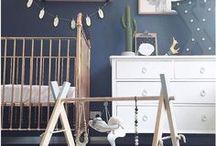 Nursery Interiors / Beautiful ideas for both boy & girls nurseries.
