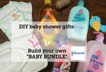 Baby shower gift ideas / Make baby shower gifting a little easier with Walmart Baby Bundles. We're pinning some of our favorite baby shower gifts and finds for new moms and their babies. Sponsored by Johnson's