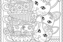 Coloring Pages / Coloring pages for old and young. Let's get out the crayons and have some fun!