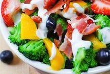 Salads / Glorified rabbit food.