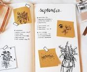 Bullet journal / Simple Bullet journal ideas