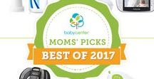 2017 Moms' Picks Awards Winners / The best baby gear according to parents. Putting together your registry? You'll want to start here. These are the winners of our 2017 Moms' Picks Awards sponsored by Target.