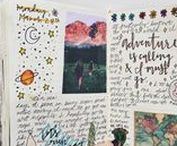 Journaling and More... / My Anything Book Inspiration + Journals, Bullet Journals, Smashbooks, Commonpace Books & Other Modes of Creative Journaling