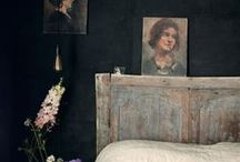The Healing Home:  Bedrooms / Decorating ideas for the home, especially small rooms.