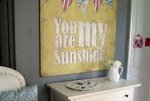 signs and printables / Wood/canvas typography & free printables