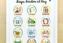 Kid's Room / camping and travel theme / by Emily Kralick