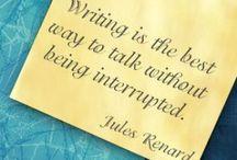 Write / I like to blog, write and journal.