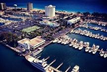 Porty, sławne mariny / Ports, the famous marina / Wielkie porty, sławne mariny, redy, miejsca cumowania sławnych jachtów i żaglowców / Big ports, famous marina, roadstead, berthing area of great yachts and famous boats & tall ships