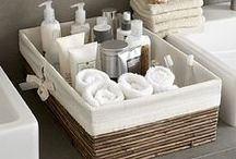 Organisation for Bathroom / by Nat C