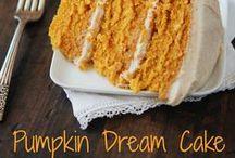 Pumpkin Pickins / Yummy pumpkin recipes / by Jillian Hord