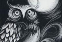 LOVE O_O Owl / by HiRAL PATEL